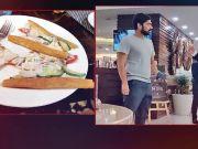 Vegetarians served chicken sandwiches at this hotel!