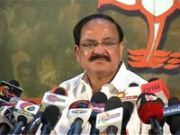 Venkaiah terms pm   s televised address as disappointing