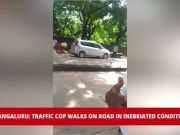 Video of inebriated traffic cop in Mangaluru goes viral