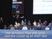 Viral video: UCLA gymnast Katelyn Ohashi wows crowd with a perfect 10