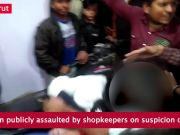 Viral video: Woman publicly assaulted by shopkeepers on suspicion of theft in Meerut