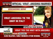 Virat Kohli and Anushka Sharma tie the knot in Milan