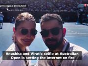 Virat Kohli, Anushka Sharma enjoy day off at Australian Open, shares Insta pictures