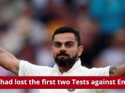 Virat Kohli's 23rd ton puts India in driver's seat against England