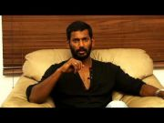 Vishal sharing exclusively about kathakali