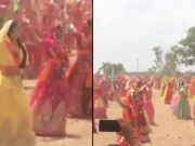 Watch: 2,000 Rajput women display their sword skills in Jamnagar, set world record