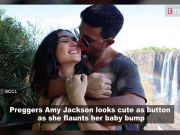 Watch: Amy Jackson flaunts her baby bump in a selfie video, shares it online