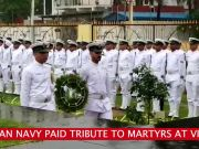 Watch: Indian Navy paid tribute to martyrs near 'Victory at Sea' War Memorial
