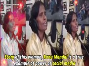 Watch: 'Lata of Ranaghat' Ranu Mandal records song for Bollywood's top music composer