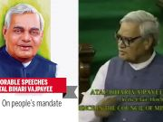 Watch: Memorable speeches of Atal Bihari Vajpayee