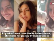 Watch: Priyanka Chopra dances on her way back home, shares videos of her travel from Milan to Mumbai