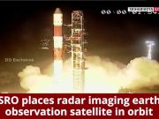Watch: PSLV-C46 lifts off carrying RISAT-2B satellite from Satish Dhawan Space Centre