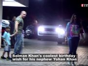 Watch Salman Khan's fun time with nephew Yohan and brother Sohail in 'Slow motion'