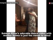 Watch: Salman Khan shares an adorable video of him dancing with mother Salma