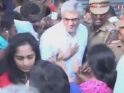 Watch: Two women lash out at Tamil star Ajith and wife Shalini at the voting booth