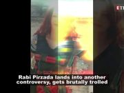 Wearing suicide vest, Pakistani singer Rabi Pirzada threatens PM Modi again; netizens slam her for irresponsible behaviour