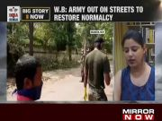 West Bengal: Indian Army conducts restoration work in Kolkata after cyclone Amphan