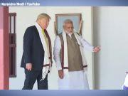 When Donald Trump, Melania spin 'Gandhi Charkha' at Sabarmati Ashram