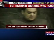 When Rajiv Gandhi ignored Jagmohan's warning about radicalisation in J&K