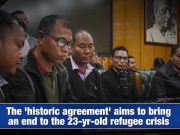 Will Bru-Reang refugee crisis end with the fresh agreement?