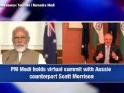 Wish I could be there for famous 'Modi hug', share samosas: Aussie PM as he bonds with PM Modi