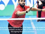 World Badminton Championships: HS Prannoy stuns Lin Dan to enter third round