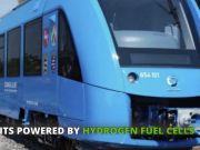 World's first hydrogen train rolls out in Germany