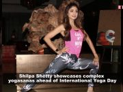'Yogini' Shilpa Shetty stuns everyone with complex yogasanas ahead of World Yoga Day