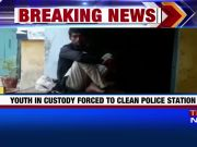 Youth in custody forced to clean police custody