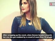Zareen Khan slaps men in Aurangabad for trying to touch her inappropriately