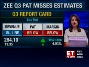 Zee Q3 net profit dips 38% to Rs 348.60 cr, revenue down 5.5%