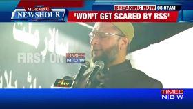 AIMIM chief Asaduddin Owaisi targets RSS chief