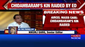Aircel-Maxis case: Chidambaram's relatives raided in Chennai and Kolkata