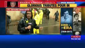 Celebrities at Shashi Kapoor's last rites in Mumbai
