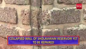 Chennai: Damaged 150-year-old Sholavaram dam poses threat to residents