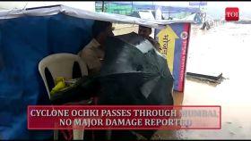 Cyclone Ochki passes through Mumbai, city records highest December rain in 50 years