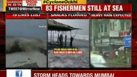 Cyclone Ockhi: Alarm sounded in Maharashtra and Gujarat