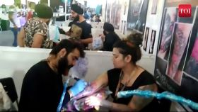 Delhiites get inked by the best tattoo artists from across the world