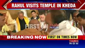 Gujarat elections: Rahul Gandhi's 'temple run' continues