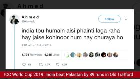 ICC World Cup 2019: Fans troll Pakistan after humiliating loss to Team India in Old Trafford