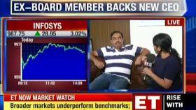 Infosys' ex-board member V Balakrishnan backs new CEO Salil Parekh