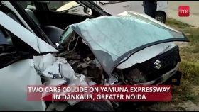 Italian national among five injured in accident on Yamuna expressway