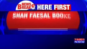 J-K: Shah Faesal booked under Public Safety Act
