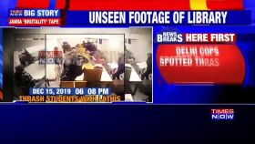 Jamia violence: New CCTV footage shows Delhi Police attacking students in library