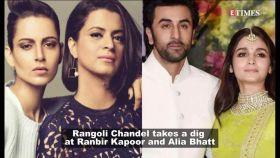 Kangana Ranaut's sister Rangoli Chandel takes a dig at Ranbir Kapoor, Alia Bhatt; calls them 'Pappu'