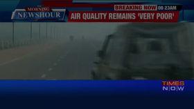 Killer smog engulfs Delhi, air quality dips further