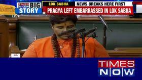 Lok Sabha: Sadhvi Pragya made to take oath again