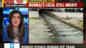 Mumbai: Robber pushes woman off moving train