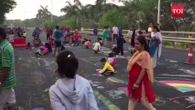 Navi Mumbai: 'Happy Streets' gets bigger, thousands soak in morning fun