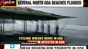 Ockhi wreaks havoc in Goa; cyclone to make landfall in Maharashtra, Gujarat in next 24 hours